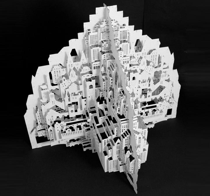 Бумажный город схемы