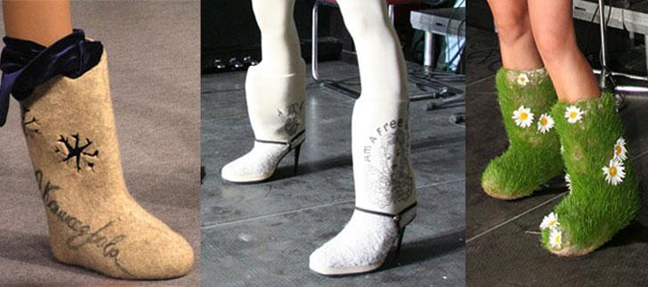 Гламурные туфли фото